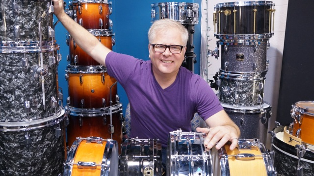 Tim Pedersen at FullOnDrums.com