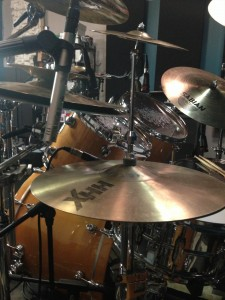 FOD - Glen Sobel hi-hat set up