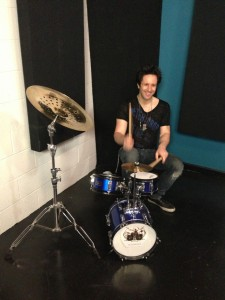 Glen Sobel on the mini kit