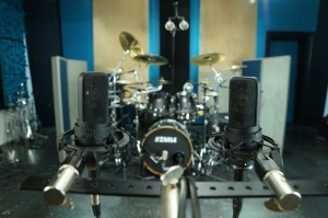 Audio-Technica AT4050 for Room mics Jeff Bowders Ultimate Studios, Inc for FullOnDrums.com Session Report